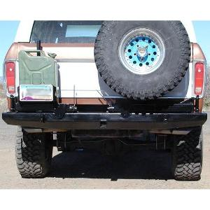 78-96 Rock Solid Rear Bumper w/ Tire &amp; Jerry Can Racks 
