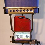 Retro Gas Can &amp; Cooler Rack - Add On 