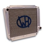 Ron Davis Aluminum Radiator A/T 66-77 Bronco With Trans Cooler