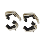 Radiator Mount Set w/4 Rubber Insulators