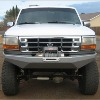 BRONCO BUMPERS 92-97